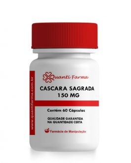 CASCARA SAGRADA 150 MG – 60 CÁPSULAS