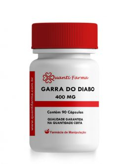 GARRA DO DIABO 400 mg-  60 CÁPS